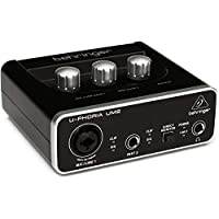 Behringer U-Phoria UM2 (2X2 USB Audio interface