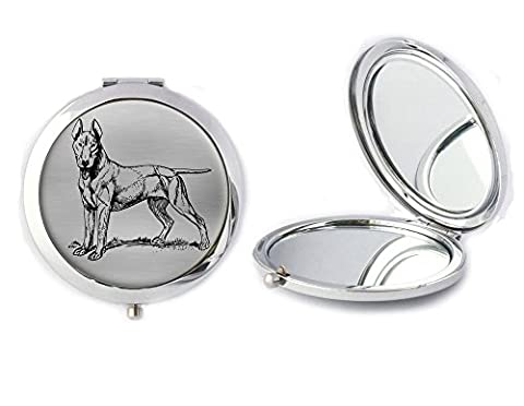 English Bull Terrier Compact Mirror Ideal Ladies Birthday Mothers Day Gift T157