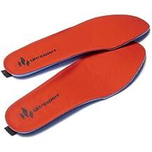 Ultrasport Action - Suelas calefactoras, color rojo, talla 41-46