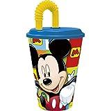 Mickey Mouse - Vaso con tapa y caña 430 ml (Stor 22030)