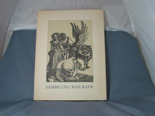 Sammlung Max Kade Katalog der Ausstellung Graphische Sammlung Staatsgalerie Stuttgart 1963/64 (1963-kunst-druck)