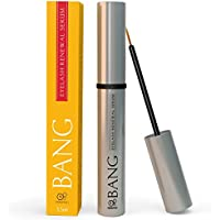 BANG Eyelash Growth Serum and Enhancer For Dramatically Longer Lashes That Get Noticed! With Castor Oil and Peptides– 2 Month Supply