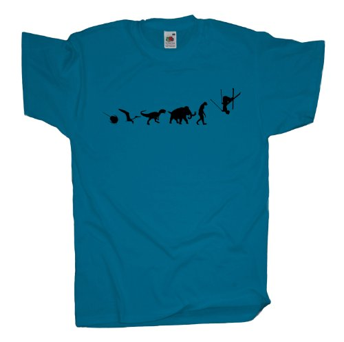 Ma2ca - 500 Mio Years - Freestyle Ski T-Shirt Azure