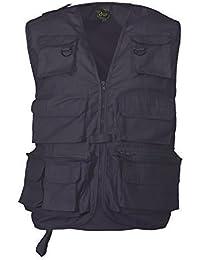 Adults Multipocket Fishing Vest Navy Xxl
