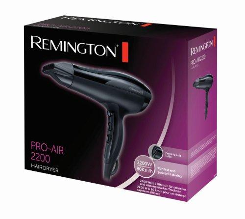 Remington D5210 Secador 2200 W rejilla de cerámica iónica antiestática concentrador