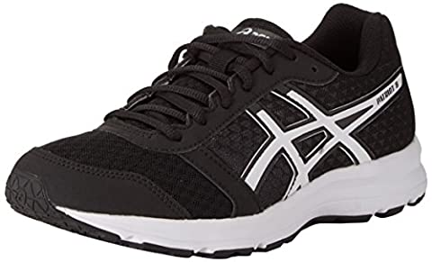 Asics Patriot 8, Chaussures de Running Compétition Homme, Noir (Black/White/White), 47 EU