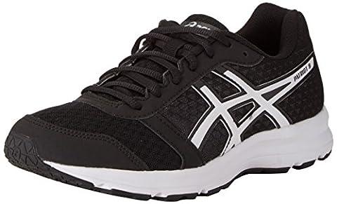 Asics Patriot 8, Chaussures de Running Entrainement Homme, Noir (Black/White/White), 45 EU