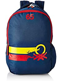United Colors of Benetton 22 Ltrs Navy Blue Casual Backpack (0IP6COLBPNR8I)