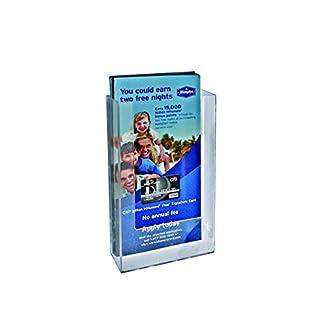 Azar Displays 252428 Single Tri-Fold Size Modular Brochure Holder Pack of 10