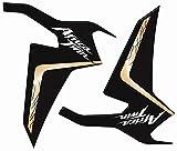 Schutz Seitenlichter Förderbänder Aufkleber 3d Für Motorrad Honda Africa Twin 2016