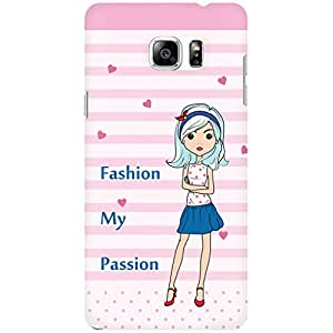 URBAN KOLOURS Original Designer Printed Hard Case Back Cover for Samsung Galaxy Note 5 (My Passion)