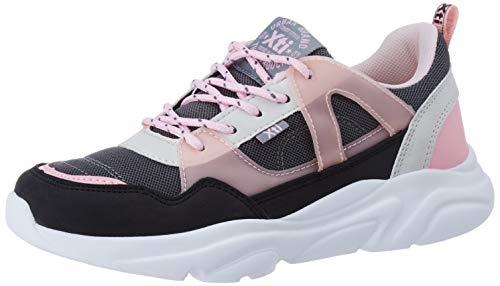 XTI 57161, Zapatillas para Niñas, Negro Negro Negro, 28 EU