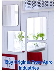 Ikea Mirror with Two Side Tapes (20x20 cm, 7 7/8x7 7/8 Inch)