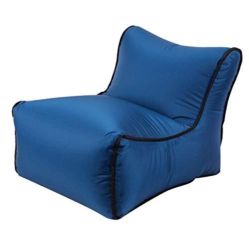 CMXSC Im Freien beweglichen Camping aufblasbaren Schlafsofa Faulen Schlafsack Strand Hangout Couch-Blaus