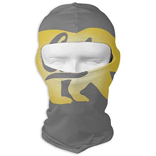 Sdltkhy Berkeley Cal Golden Bears Winter Cycling Full Face Mask UV Protection Balaclava Hood for Men and Women