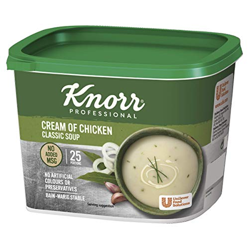 Knorr Classic Cream of Chicken Soup, 25 Portions (Makes 4.25L)