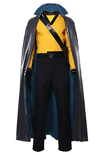 RedJade Star Wars: The Rise of Skywalker Lando Calrissian Cosplay Kostüm Herren - Lando Star Wars Kostüm