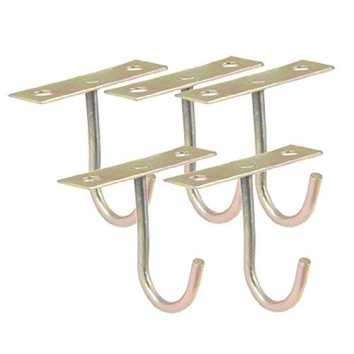sourcingmap-a11050900ux0154-gancho-para-colgar-del-techo-metal-forma-de-t-5-unidades-color-bronce