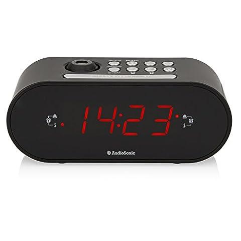 AudioSonic CL-1496 Uhrenradio/Radiowecker Projektion Helligkeitsregler