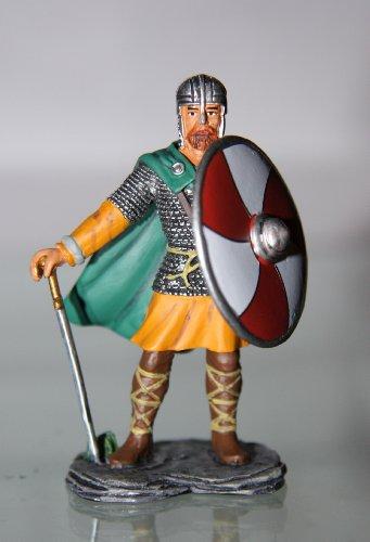 Preisvergleich Produktbild Frontline-Altaya-De Agostini AW-Anglo-Saxon Warrior / Angelsachse Krieger-Zinn