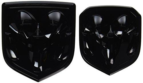 black-dodge-ram-1500-2500-3500-front-rear-ram-head-emblem-medallion-mopar-oem-by-mopar