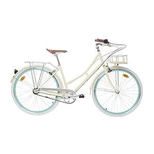 41erC7tBf6L. SS300 Fabric City - Bicicletta di Città con Cestino, Interno 3 velocità, Donna City Bike