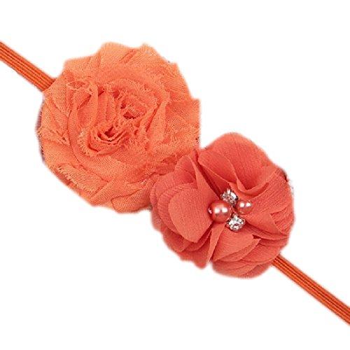 Kleidung, Schuhe & Accessoires Realistisch Baby Kinder Blumen Haarband Haar Mädchen Blume Haarschmuck Taufe Fotoshooting