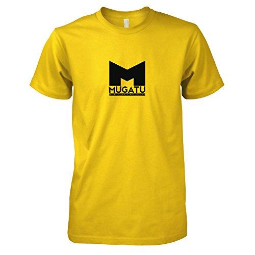 TEXLAB - Mugatu - Herren T-Shirt, Größe XXL, gelb