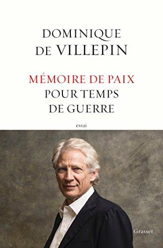 Mémoire de paix pour temps de guerre (essai français)