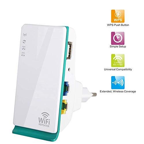 WLAN Repeater WiFi Range Extender WiFi Expander Repeater Booster Wireless Signal Verstärker 150M Router
