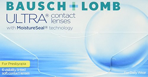 Bausch + Lomb Ultra for Presbyopia Contact lenses with Moistureseal Technology Monatslinsen weich, 6 Stück / BC 8.5 mm / DIA 14.2 mm / ADD HIGH / -4.5 Dioptrien