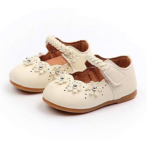 Babyschuhe, Kleinkind Baby Mädchen Kinder Schuhe Blume Leder Einzelne Schuhe Weiche Sohle Prinzessin Schuhe