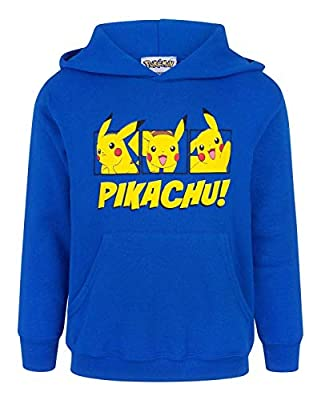 Pokèmon Pikachu Boy's Hoodie por Fashion UK
