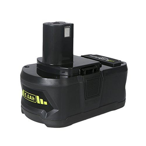 Preisvergleich Produktbild FLAGPOWER P108 18V 5.0Ah Wekzeug Akku für Ryobi ONE+ P108 P107 P122 P104 P105 P102 P103 Li-ion Batterie Ersatzakku