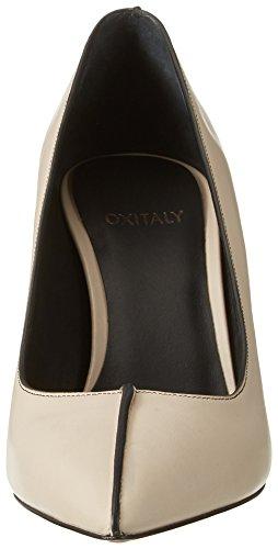 Oxitaly Sevill 306, Scarpe Col Tacco Donna Elfenbein (RISO)