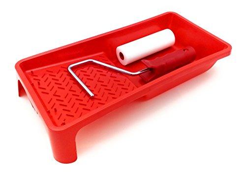 kit Cubeta de esmaltar con rodillo poro 0 de 11cm