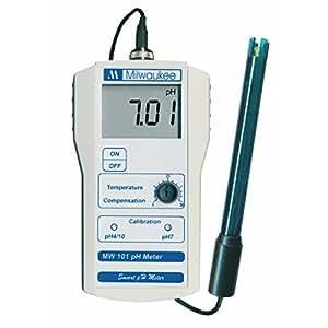 Milwaukee MW101 - Misuratore pH con sonda