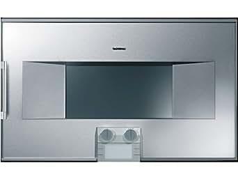 Gaggenau BS280-110 Inox sous Verre - Gaggenau BS 280-110 - Four - intégré(e) - classe A - Porte plein verre sur inox