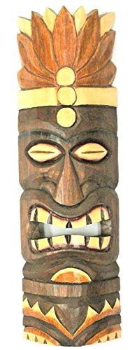 Tiki-Hawaii-mscara-mscara-de-pared-50-cm-madera-estante-para-la-pared-del-sur-mar