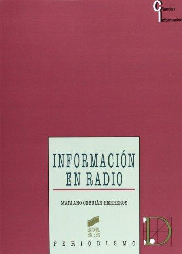 Información en radio por MARIANO CEBRIAN HERREROS