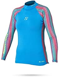 Magic Marine Energy Rash Vest L/S Women, Couleur:Blue;Taille:XL