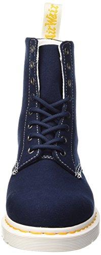 Dr. Martens PAGE Canvas NAVY, Chaussures bateau femme Bleu - Blu (Navy)