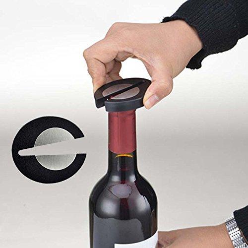 Aliciashouse Facile Rosso Vino Champagne Foil Cutter Apribottiglie Vino (10 Ounce Bambino Bottiglie)