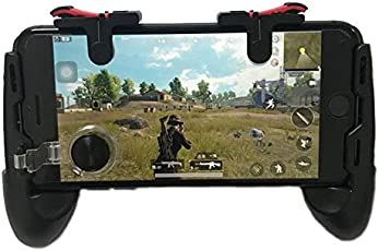 Leoie Universal Mobile Game Controller Phone Grip with Joystick/Fire Buttons for 5.0~6.0 Inch Mobile Phone Android iOS Gamepad