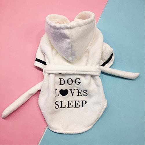 Frühling/Sommer Haustier Hund Kleidung Für Kleine Hunde Baumwolle Haustier Katze Weste Kleidung Haustier T-Shirt Hund Shirts Cartoon Chihuahua Mops Kostüme Kleine Hundebekleidung Bademantel XL Weiß (Superman Weißen Kostüm)