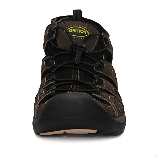 Grtion Mens Sport E Sandali Outdoor Marrone Rossiccio
