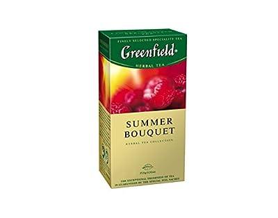 Greenfield - Infusion aux plantes Summer Bouquet 25 sachets dans une boîte (lot de 10)