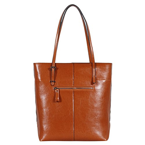 jieway di alta qualità da donna nuovo PUleather Borsetta Borsa a tracolla borse shopping vendita calda Brown