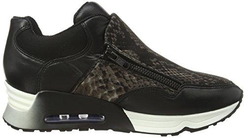 1707 black Ash Sneakers stone Damen Schwarz Lenny Bis xXXgqW0Z