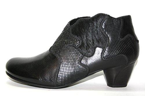 Think lunah 1–81155–09 bottines pour femme Noir - Noir (09)